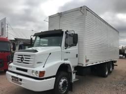 Caminhão Mb 1218 EL Trucado baú Repasse financia 50 mil 1º caminhão Ajudo - 2001