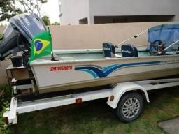 Barco Marajo LEVEFORT CLX 500 + motor + Reboque - 2005