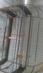 Vendo gaiola de inox