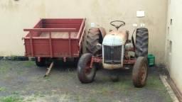 Vendo trator Ford 1951 raridade com carreta