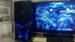 Computador gamer cpu processador intel core i7 2600K 3.40 GHz memoria 08 gb placa de video
