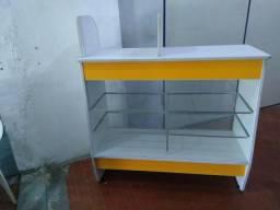 Balcão para lanchonete (Balcão seco+caixa+local para estufa)