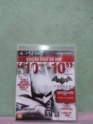 (LEIA A DESCRIÇÃO) Batman Arkham City EDIÇÃO: JOGO DO ANO PS3