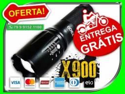 Lanterna Tática Militar X900 Original Led 8000 Lumens 2000x - Novo - Entrega Grátis