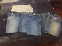 679dd327038 Calças Jeans originais de grandes marcas
