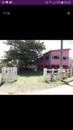 Casa Rosa da Praia dos Padres em Aracruz. Frente para o mar!!!