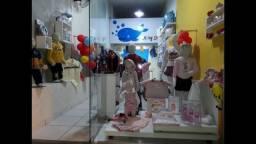 Loja Infantil no centro da cidade