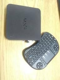 MX4 TV Box + Mini teclado sem fio