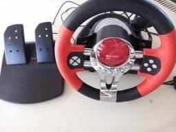 Volante + Pedal PS2 PS3 Pc