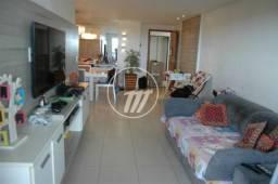 Ótimo apartamento com 113 m², 3/4 e área de lazer na Gruta de Lourdes. REF: V4153