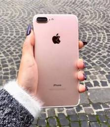 IPHONE 7 Plus ROSÊ 32Gb / Pouco uso impecável