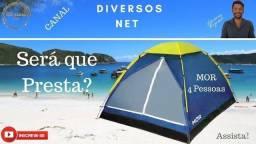 Barraca Iglu 4 Pessoas Camping Mor + Fácil De Montar comprar usado  Campo Grande