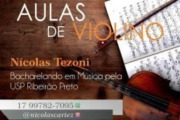 Aulas de Violino presencial ou online