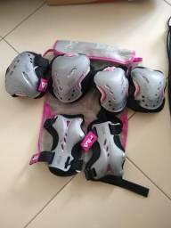 Kit de Proteção Fila Skate WOW 3-SET S