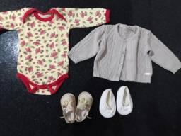 Roupas bebê RN/P e infantil Tam 4