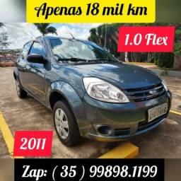 Ford Ka 2011 * 18 mil km * Único Dono * 1.0 Flex * Extremamente Conservado - 2011