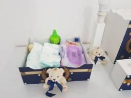 Kit higiene bebê semi novo