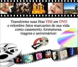 Vhs para DVD ou arquivo digital