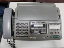 Secretária eletrônica,  fax e telefone Panasonic- funcionando.  Retirar campo belo - SP