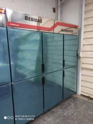 Geladeira inox 6 portas - Yasmin