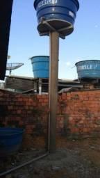 Estrutura de caixa d'água