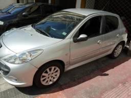 Troco, Financio, Peugeot 207 2009 XS 1.6 (flex) Apenas 65000Km
