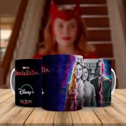 WandaVision Caneca Personalizada Serie Disney +