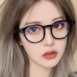 Óculos unissex para grau ou estética Vintage