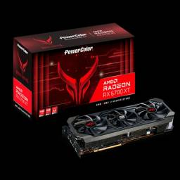 RED DEVIL AMD RX6700 XT - PowerColor - 12GB - NOVA