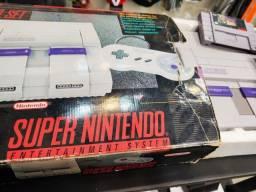 Super Nintendo na Caixa Original - Fonte Original