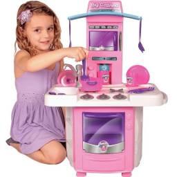 Cozinha Infantil Completa com Acessórios Big Star 630