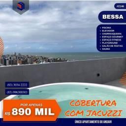 Título do anúncio: Apartamento para Venda em João Pessoa, Bessa, 3 dormitórios, 1 suíte, 2 banheiros