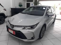 Toyota Corolla XEi 2020 Prata com 1.700 km