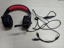 Headset Redragon TheSeus USB