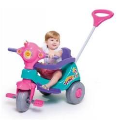 Triciclo velocita calesita rosa