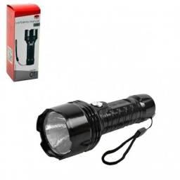 Mini lanterna manual com led tatica