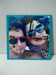 Relógios de parede Personalizados (Dourados)