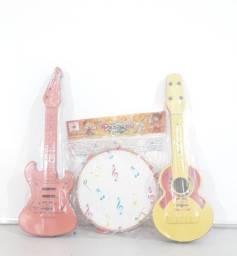 Kit instrumentos musicais infantil