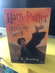 Livro Harry Potter e as Relíquias da Morte - Usado