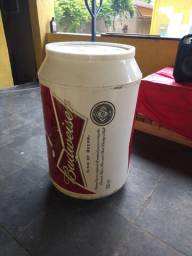 Cooller Budweiser 80 latas