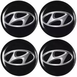 Kit de emblema Resinado 48mm Hyundai