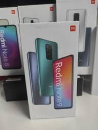 Folia! REDMI Note 9 da Xiaomi.. Novo LACRADO Garantia entrega