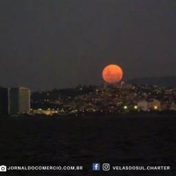 Charter Veleiro Porto Alegre - Velejada da Lua Cheia