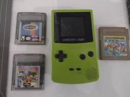 Game boy color + 3 jogos