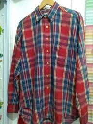 Título do anúncio: Camisas Richards 100% algodão tamanho 1