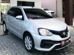 Título do anúncio: Toyota Etios X Plus 2020 prata * Oportunidade