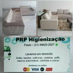 Higienização e impermeabizaçao de estofados