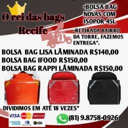 Motoboy bag com isopor 45 litros