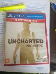 Uncharted The Nathan Drake Collection 3 em 1 usado
