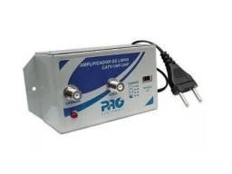 Amplificador 30db Pqal-3000 Proeletronic Digital Uhf E Catv